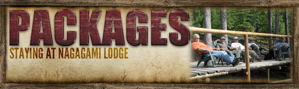 Packages banner Nagagami Lodge